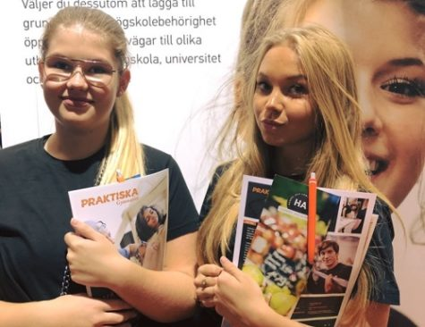Linnea och Johanna Handelsprogrammet