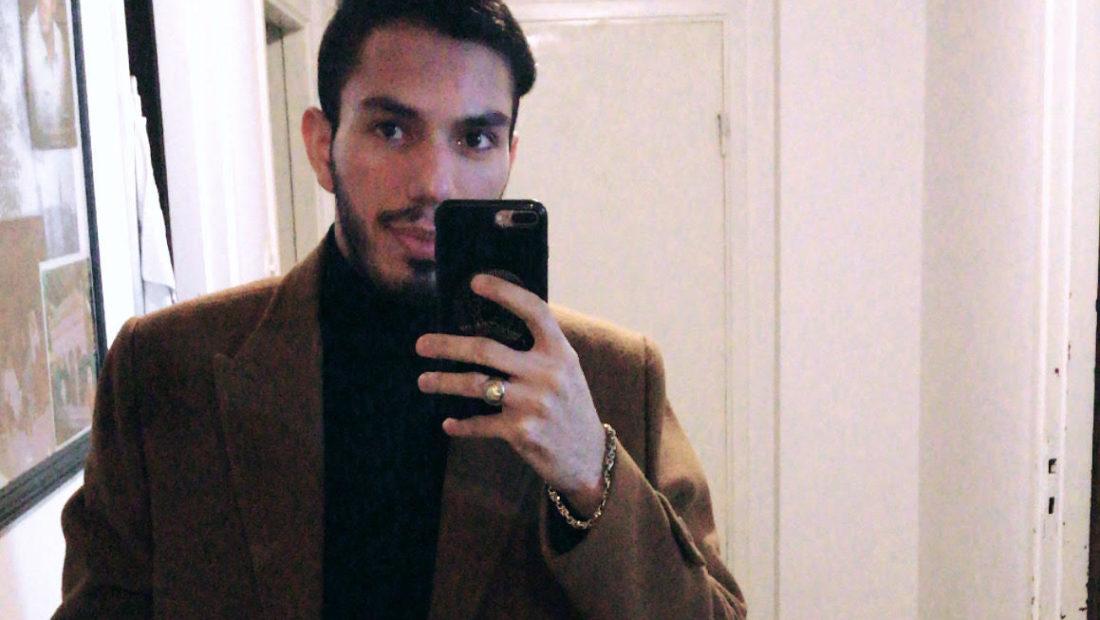 Bahram, elev på Praktiska Gymnasiet Växjö
