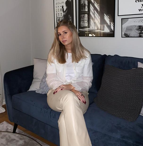 Wilma Johansson, elev på Praktiska Gymnasiet Västerås