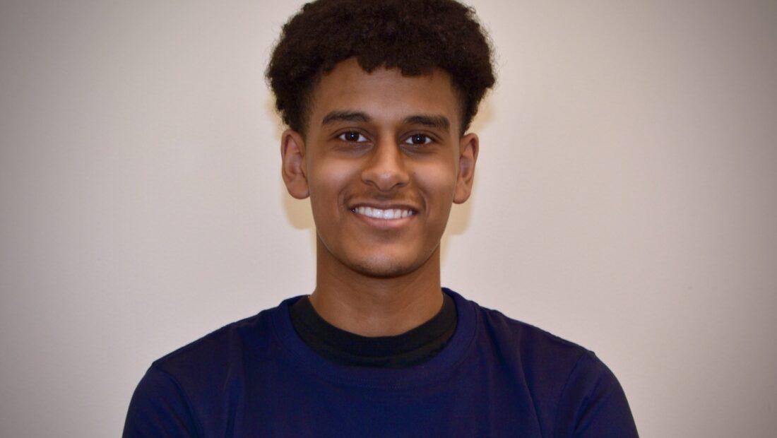 Nadir, elev på Praktiska Gymnasiet Stockholm Bromma