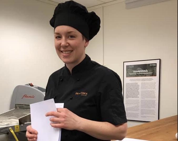 Anna, bagerilärare på Praktiska Gymnasiet Jönköping