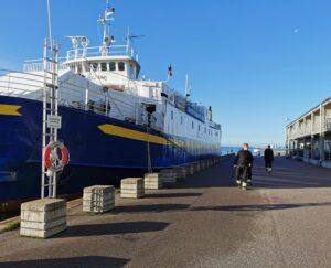 Gymnasium i Kalmar går till sjöss