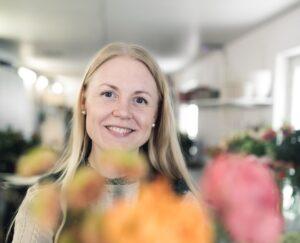 Floristläraren Elin om att undervisa på Praktiska Skövde