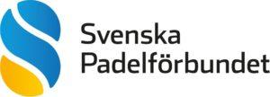 Svenska padelförbundets logotyp
