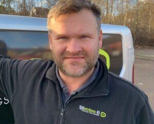 Petter är handledare för eleverna på Praktiska Borås