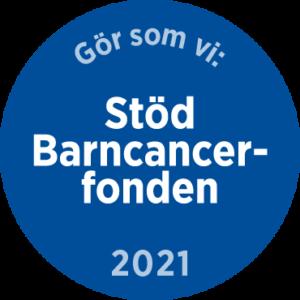 Märke: Gör som vi - Stöd Barncancerfonden